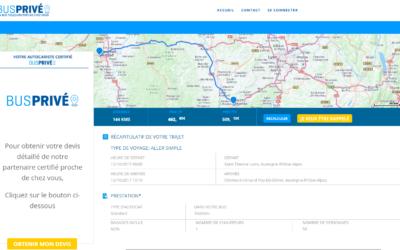 Devis temps-réel pour la location d'autocar avec chauffeur
