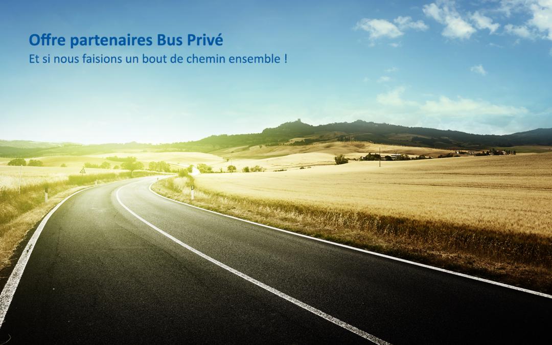 L'offre partenaire Busprive.com inédite